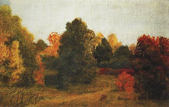 Картина «Осень», художник: Архип Иванович Куинджи